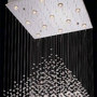 Lite Source LS19580 - Cristallo Modern / Contemporary Chandelier LS-19580