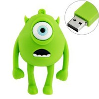 Amazon.com: 8GB USB Flash Drive Rubber Cyclops Monster Shape 8G Memory Stick USB 2.0 U Disk - Green: Computers & Accessories