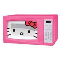 Hello Kitty 0.7 Cubic Feet 700 Watt Microwave - MW-07009 with Mini Tool Box (cog): Everything Else