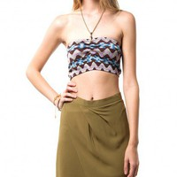 insane jungle NAVAJO STRIPE BANDEAU - WOMEN'S