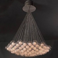 PLC Lighting 86628SN - Hydrogen Modern / Contemporary Chandelier PLC-86628-SN