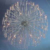 Meyda Tiffany 37666 - Super Nova Crystal Modern / Contemporary Chandelier MD-37666