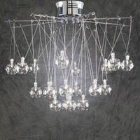 PLC Lighting 93924PC - Galaxia Modern / Contemporary Chandelier PLC-93924-PC