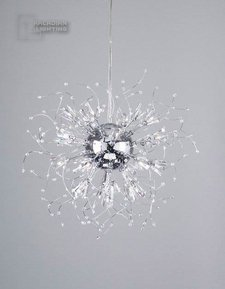 PLC Lighting 81635PC - Empire Modern / Contemporary Chandelier PLC-81635-PC