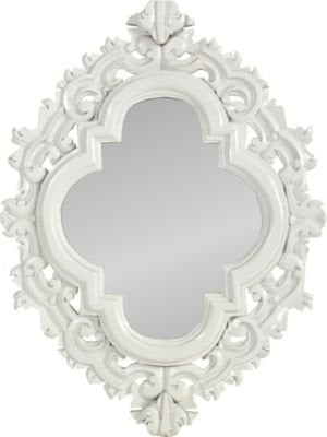 One Kings Lane - Lara Shriftman - White Wall Mirror