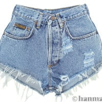 ALL SIZES PLAINO Vintage Levi highwaisted denim by Hanmattan