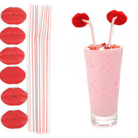 Kikkerland Design Inc   » Products  » Lip Straws