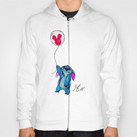 Stitch doesn't want to leave Disney World Hoody by Trinity Bennett