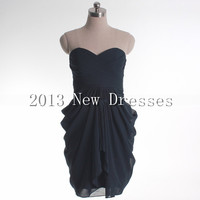 Cheap 2013 Amazing A-line empire waist chiffon Prom Evening Dresses Party Dresses 001