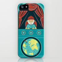 Aquatic Adventurer iPhone Case by Teo Zirinis