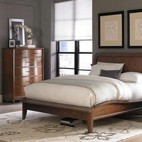 Savoy Queen Size Platform Bed