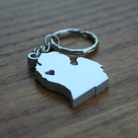 Michigan Lovin' - Metal Keychain
