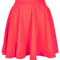 Fluro Pink Skater Skirt - Skirts - Clothing - Topshop