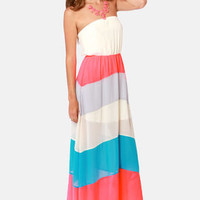We Be-long Together Strapless Maxi Dress