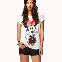 Minnie Mouse Tee | FOREVER 21 - 2038340529