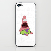 patrick star iPhone &amp; iPod Skin by Sara Eshak | Society6