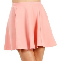 Blush Skater Skirt