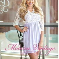 Texas Sweetheart Dress Lavender
