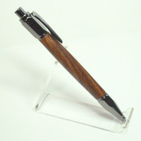 Vertex Gun Metal Click Pen Cocobolo