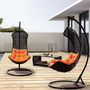 Clove - Balance Curve Porch Swing Chair