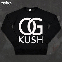 I CAME FROM NOTHING   Toke - OG Kush - Sweatshirt