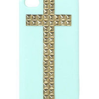 Studded Cross Phone Case | Shop Accessories at Wet Seal