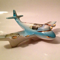 Atomic jet ceramic ashtray