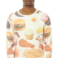 Rook Crew Devils food Sweatshirt in White – Karmaloop
