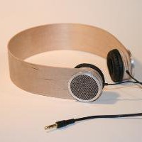 Custom Birch Plywood Headphones by nicomonterosso on Etsy