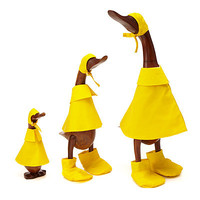 RECLAIMED TEAK WOOD RAIN DUCKS