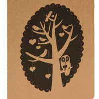Love in the Treetops Notebook | Mod Retro Vintage Books | ModCloth.com