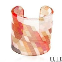 Modnique.com -  Sales Events - ELLE Ladies Bracelet Designed In Multicolor Plastic