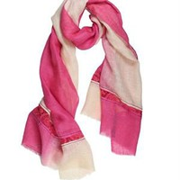 Tantra Lace Insert Embellished Scarf - Spanish Summer Accessories by Tantra - Modnique.com