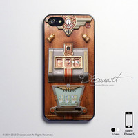 Vintage slot machine iPhone 5 case, iPhone 5 cover, case for iPhone 5, S458