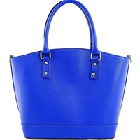 EA Solid Color Zipped Tote Made In Italy - EA Handbags New Summer Collection - Modnique.com