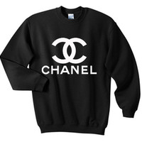 Chanel Paris Logo Sweatshirt Crewneck Unisex (Size S &amp; M) CH03