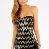 Sequined Angles Dress $52
