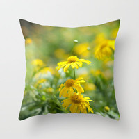 Dance with me Throw Pillow by AngsanaSeeds