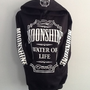 Printed Hoodie- Moonshine