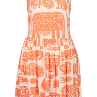 Animal Ladder Back Dress - Style Nomad - We Love - Topshop USA