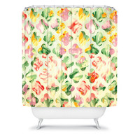 DENY Designs Home Accessories | Arcturus Clover Round Shower Curtain