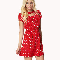 Cutout Peter Pan Dress | FOREVER 21 - 2045413245