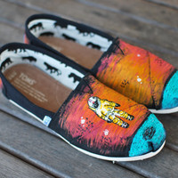 Deja Entendu TOMS by BStreetShoes on Etsy