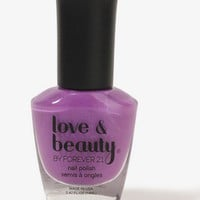 Peaceful Purple Nail Polish