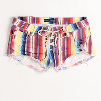Lite hearted stripe shorts at PacSun.com