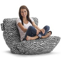 Big Joe Roma Chair, Zebra: Home & Kitchen