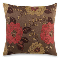 "Full Bloom 20"" Decorative Toss Pillow"