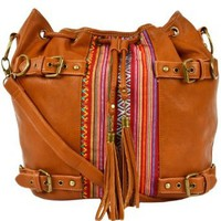 Trekker Messenger Bag - Brown: Clothing