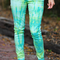 That 70's Girl Pants: Tie Dye | Hope's