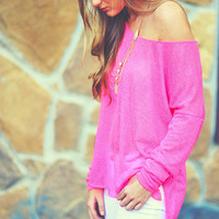 Wild Spirit Top: Neon Pink | Hope's